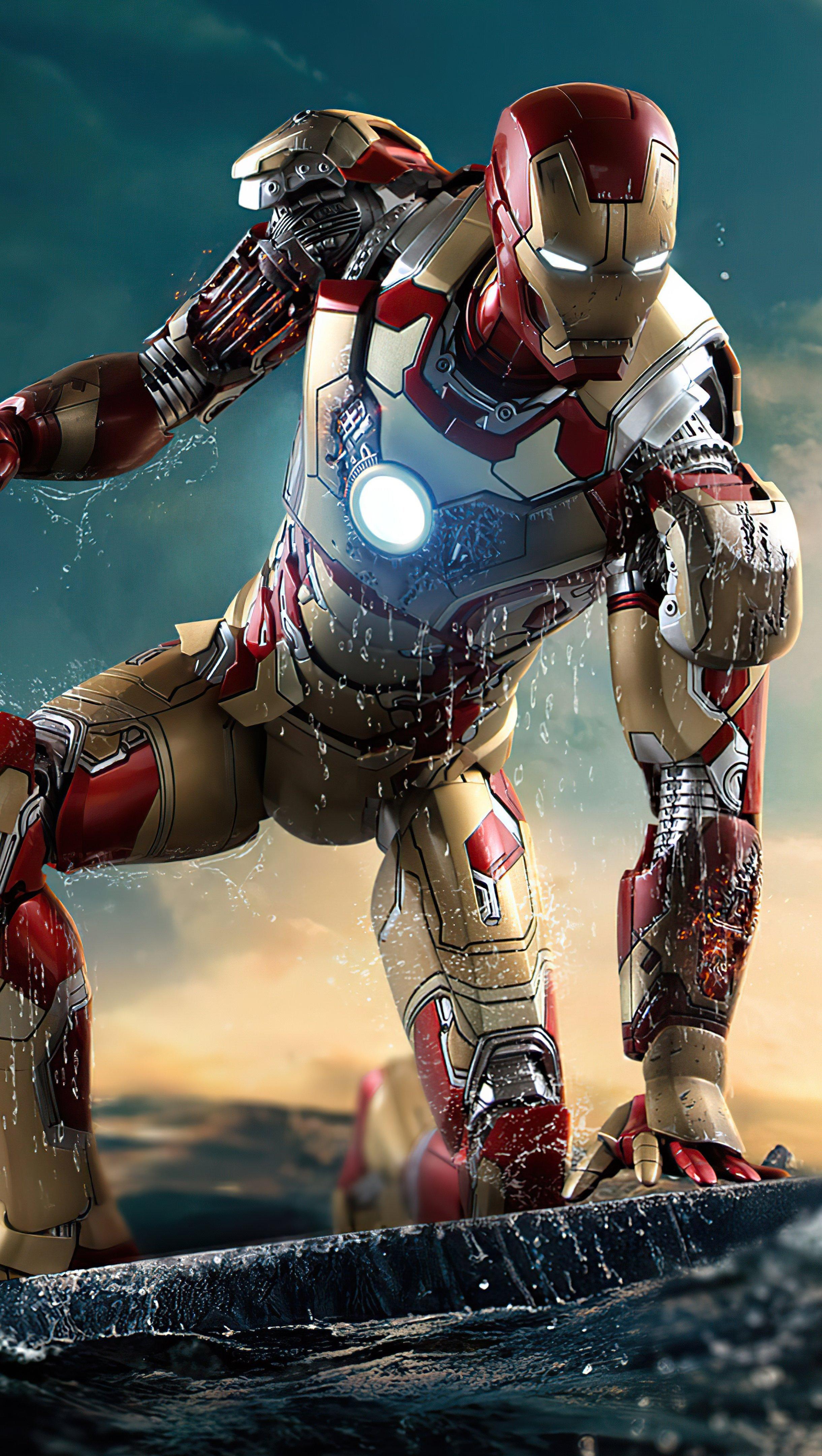 Fondos de pantalla Iron Man Vertical