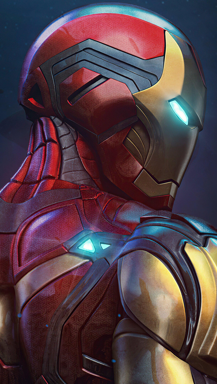 Fondos de pantalla Iron Man 85 Sculpt Vertical