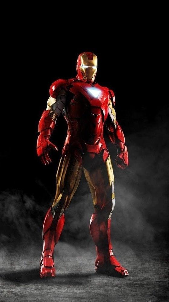 Fondos de pantalla Iron man con humo Vertical
