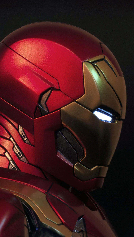 Fondos de pantalla Iron man de perfil Vertical
