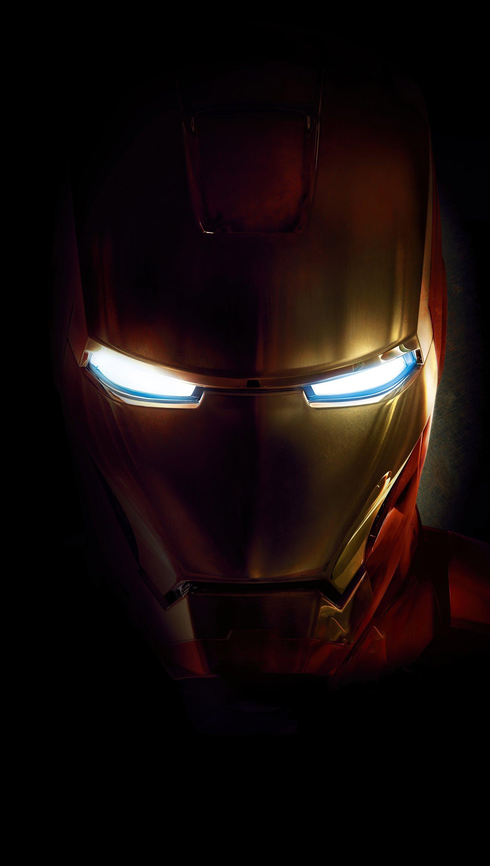 Fondos de pantalla Iron man en la oscuridad Vertical