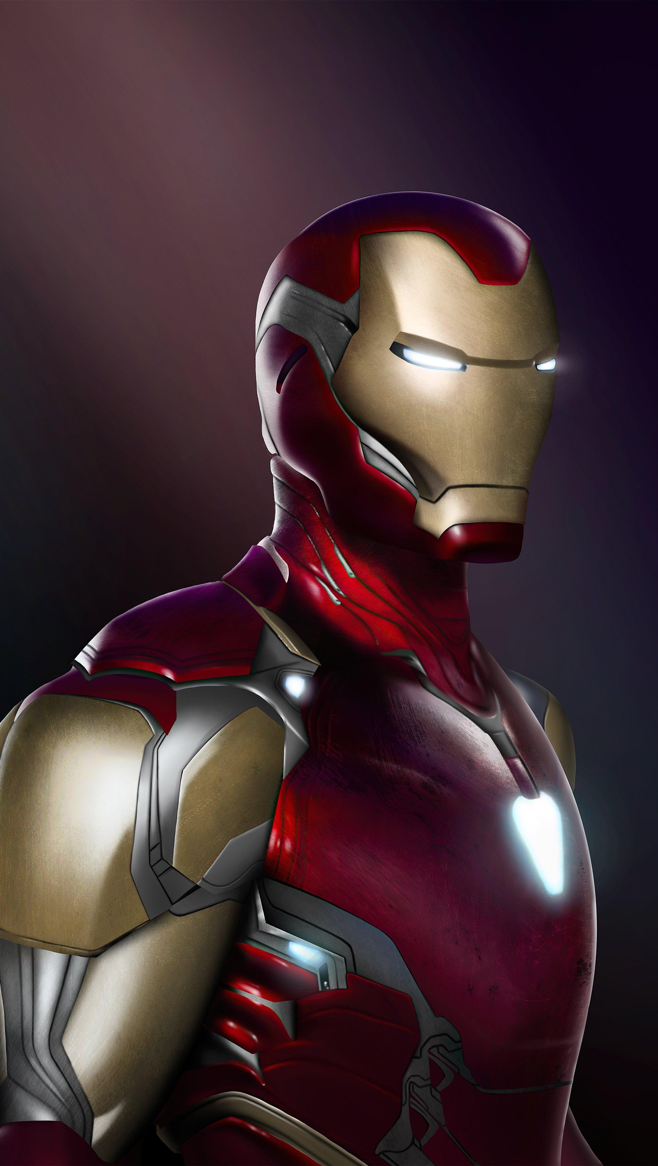 Fondos de pantalla Iron Man End Game Vertical