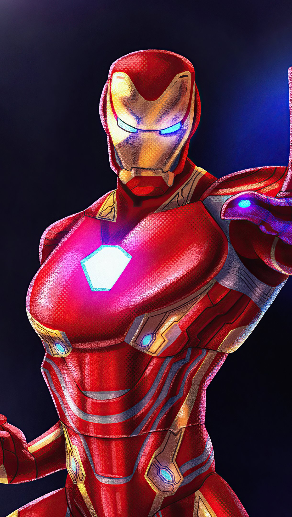 Fondos de pantalla Iron Man Fanart 2020 Vertical