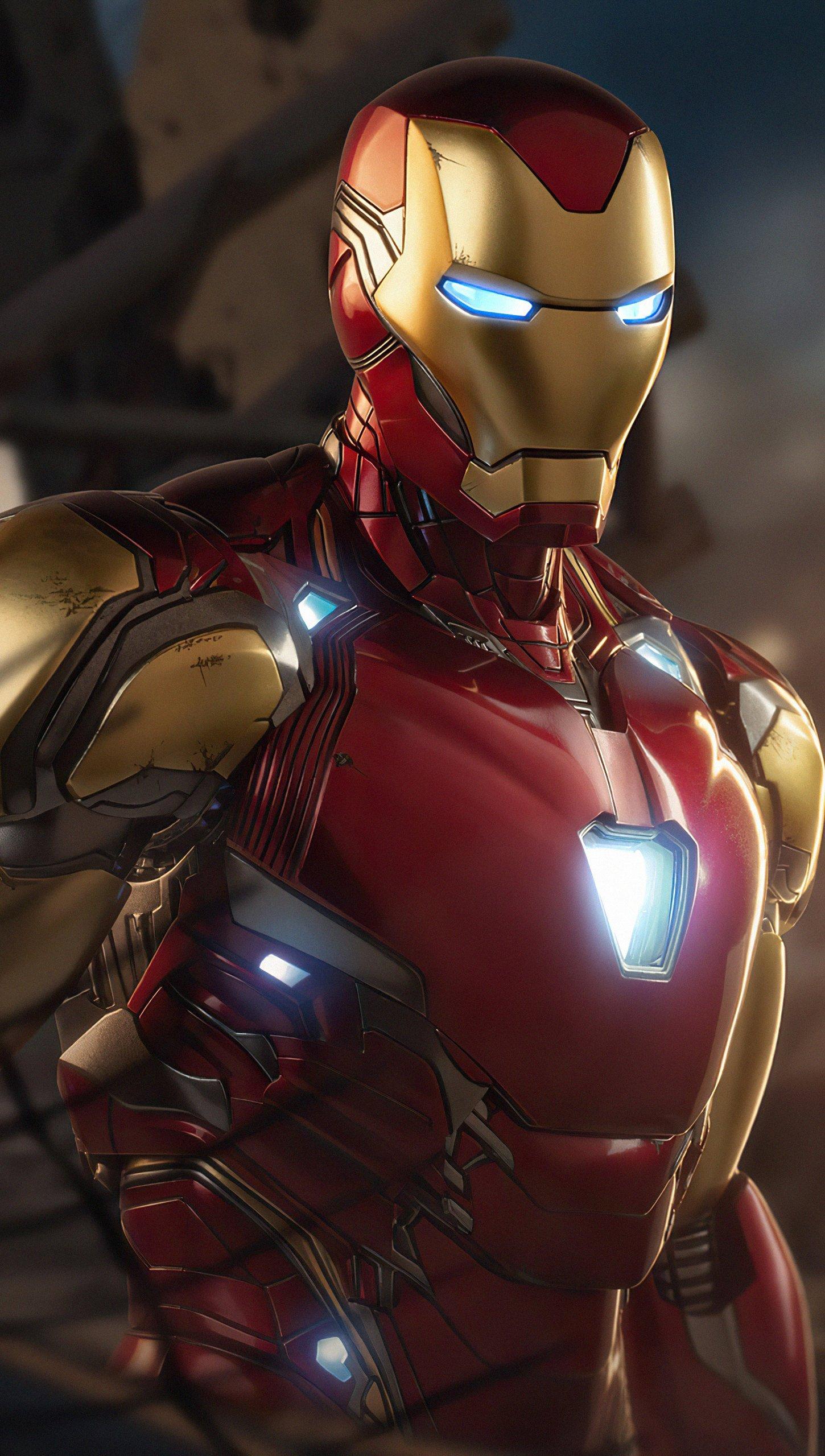 Wallpaper Iron Man Avengers 4 Vertical