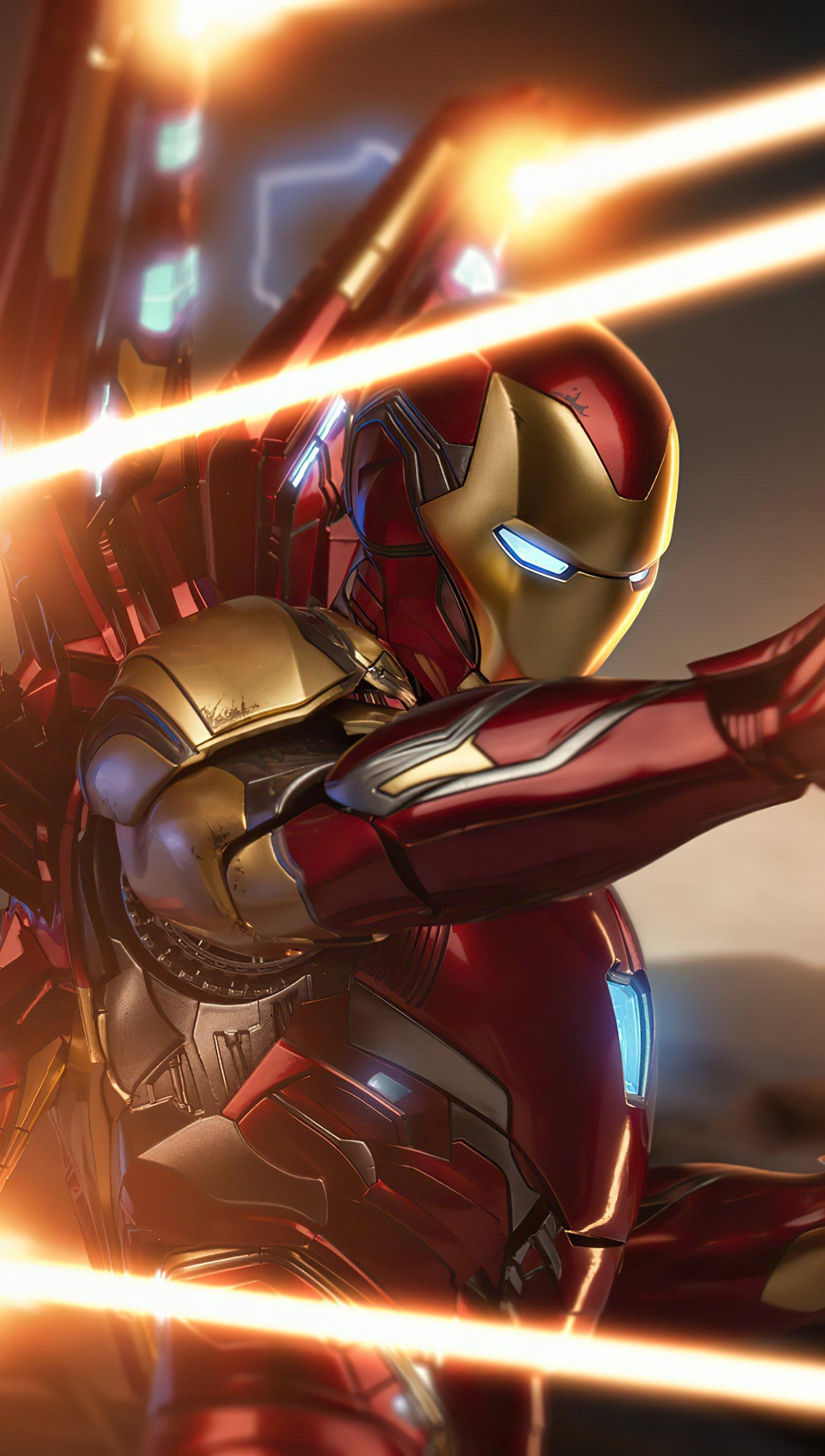 Wallpaper Iron Man mark 85 Vertical