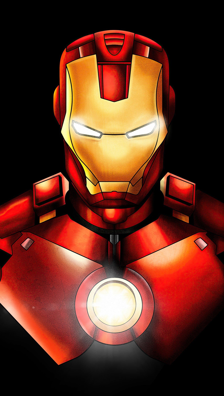 Fondos de pantalla Iron Man Marvel Fanart Vertical