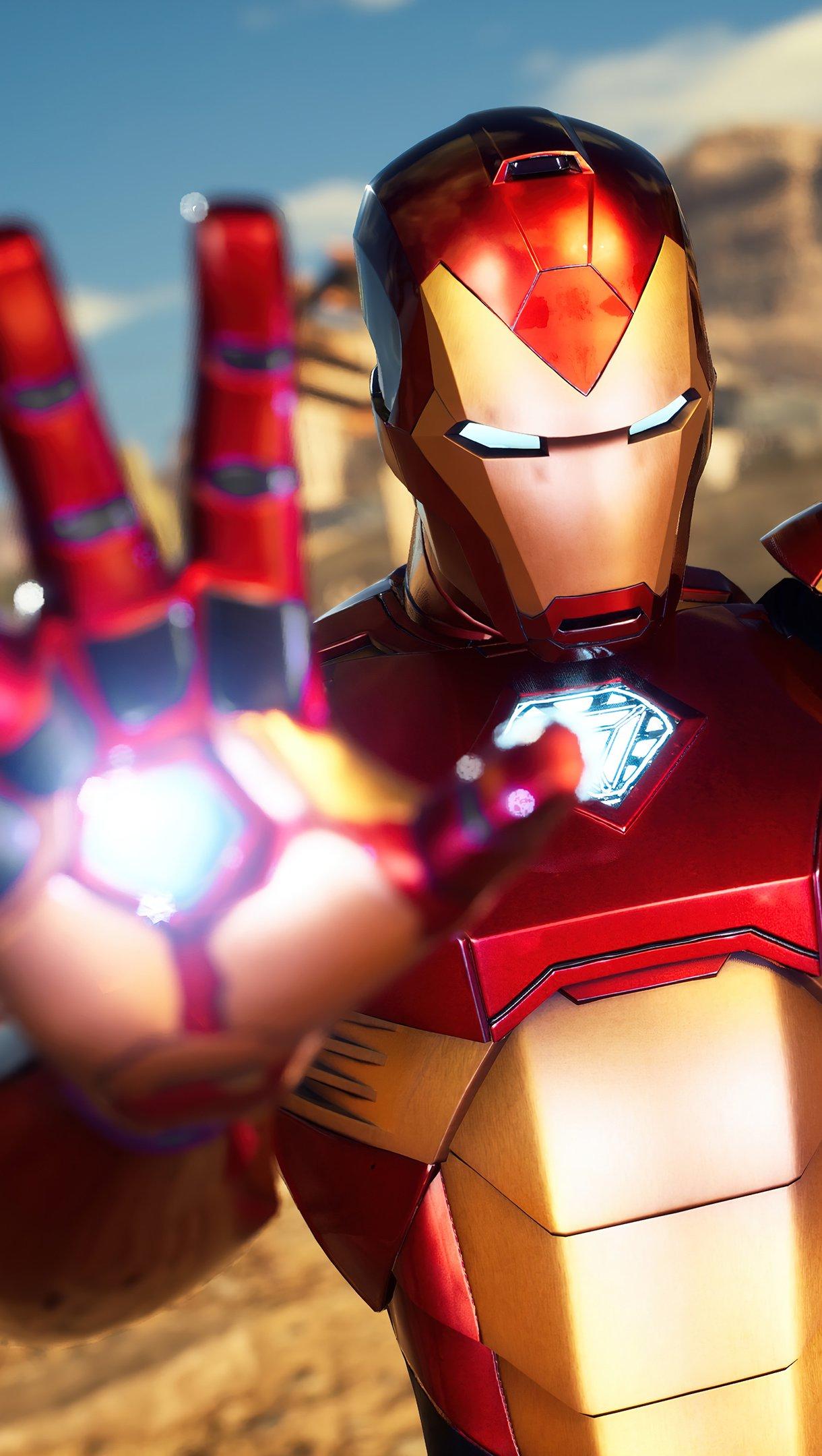 Fondos de pantalla Iron Man Marvel's Midnight suns Vertical