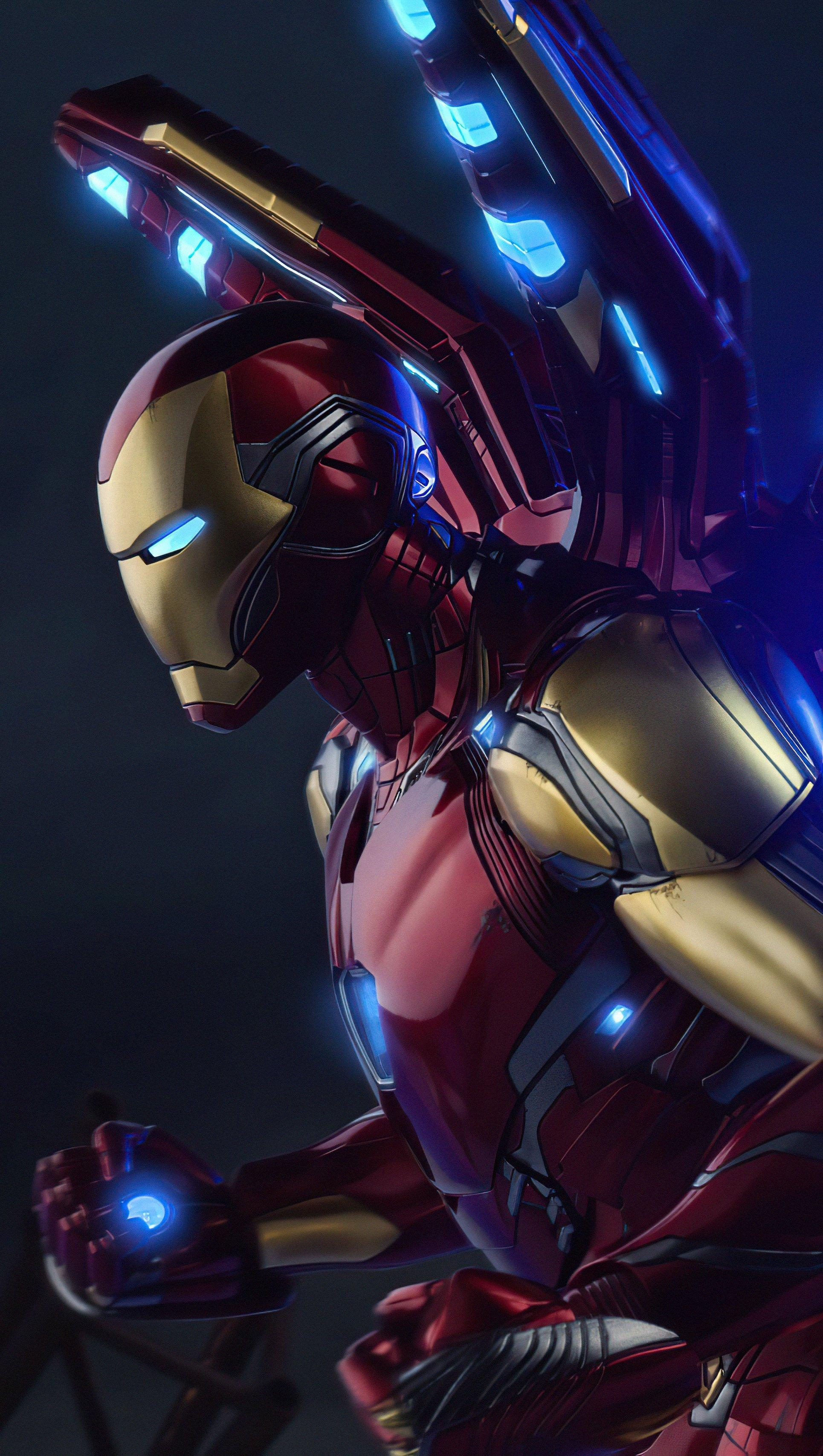 Fondos de pantalla Iron Man MK85 Vertical