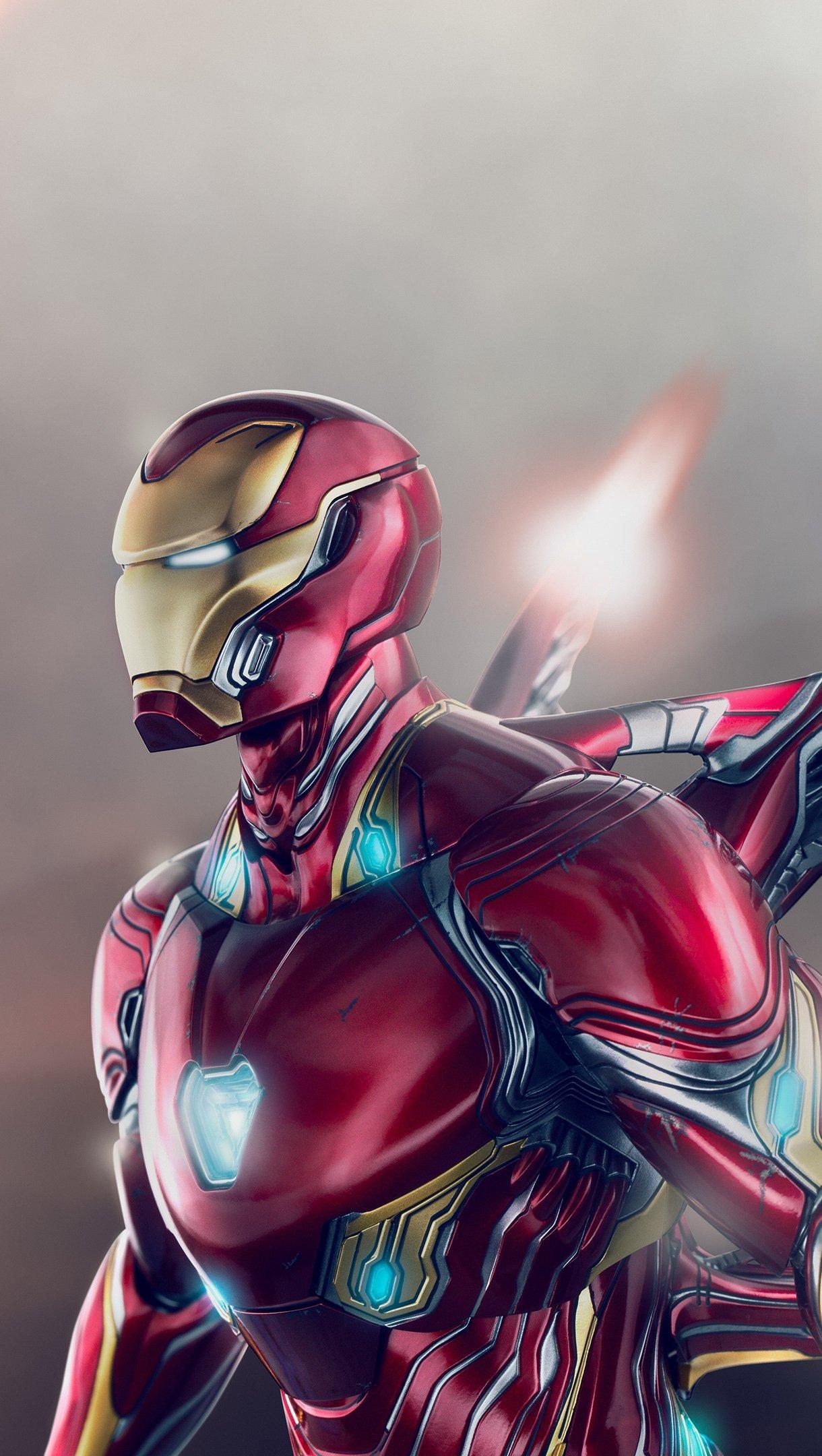 Wallpaper Iron Man wing suit Vertical