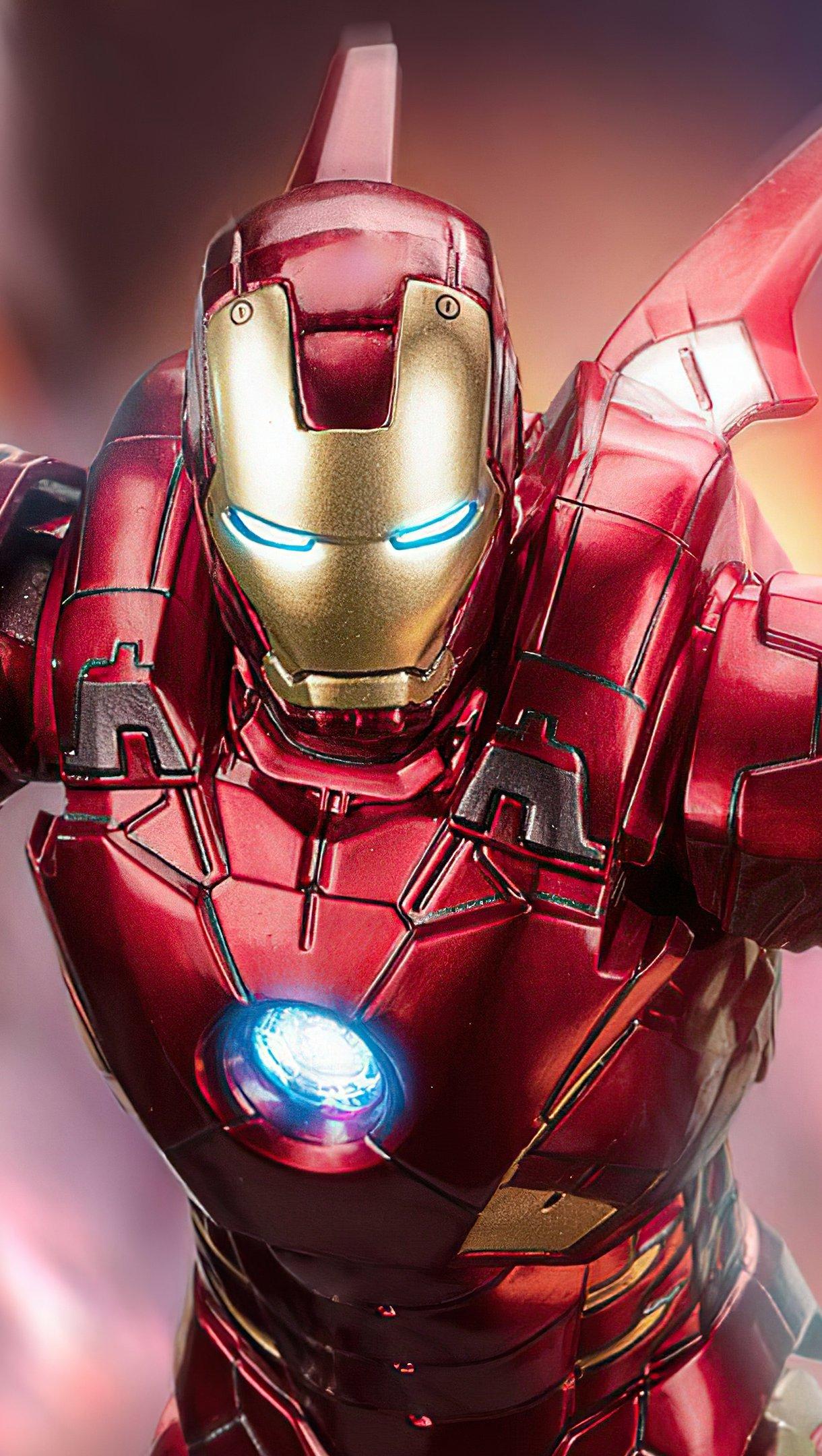 Fondos de pantalla Iron Man volando Vertical