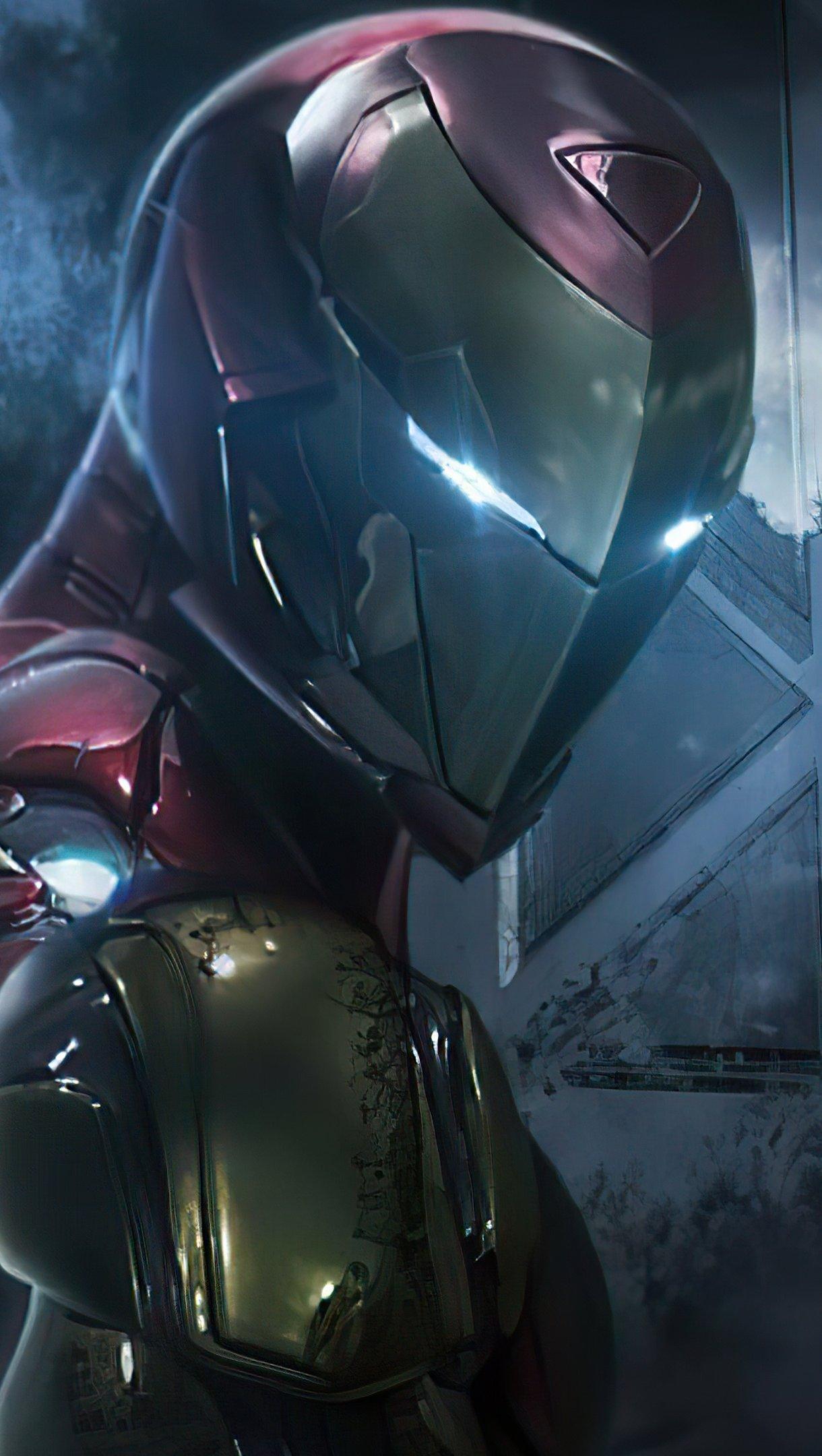 Fondos de pantalla Iron man y Spiderman Vertical