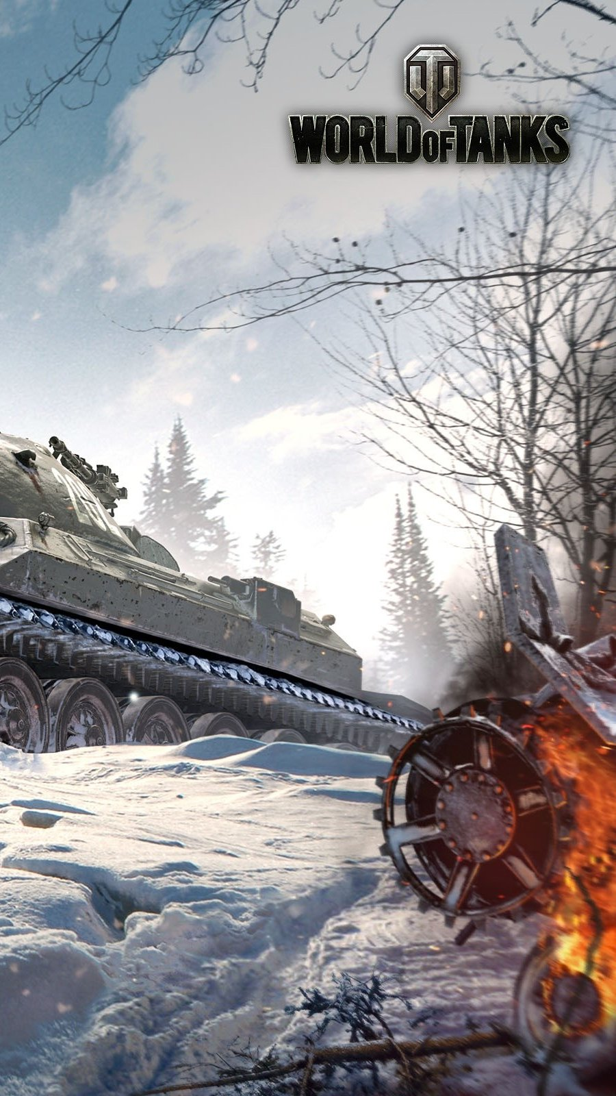 Wallpaper IS 7 from World Of Tanks Vertical