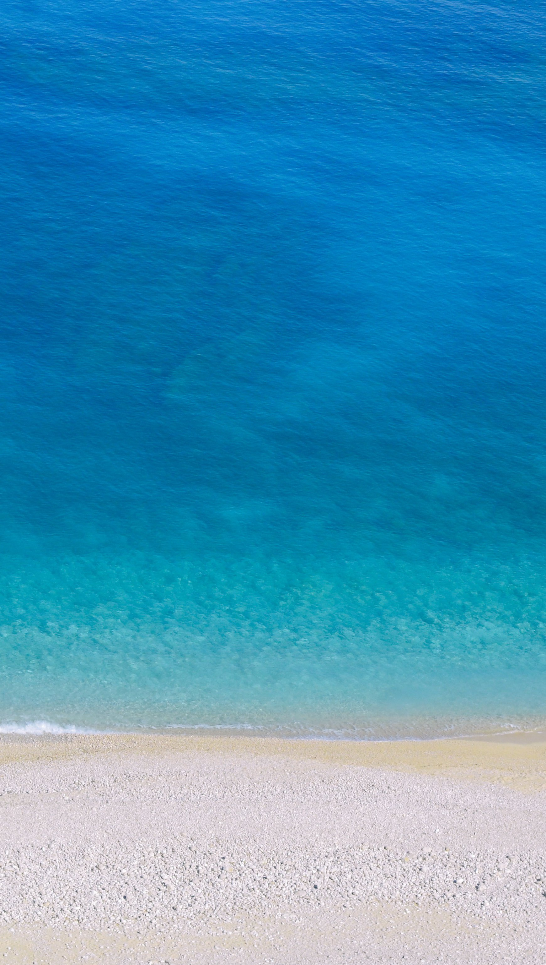 Fondos de pantalla Isla turquesa playa Vista aérea Vertical