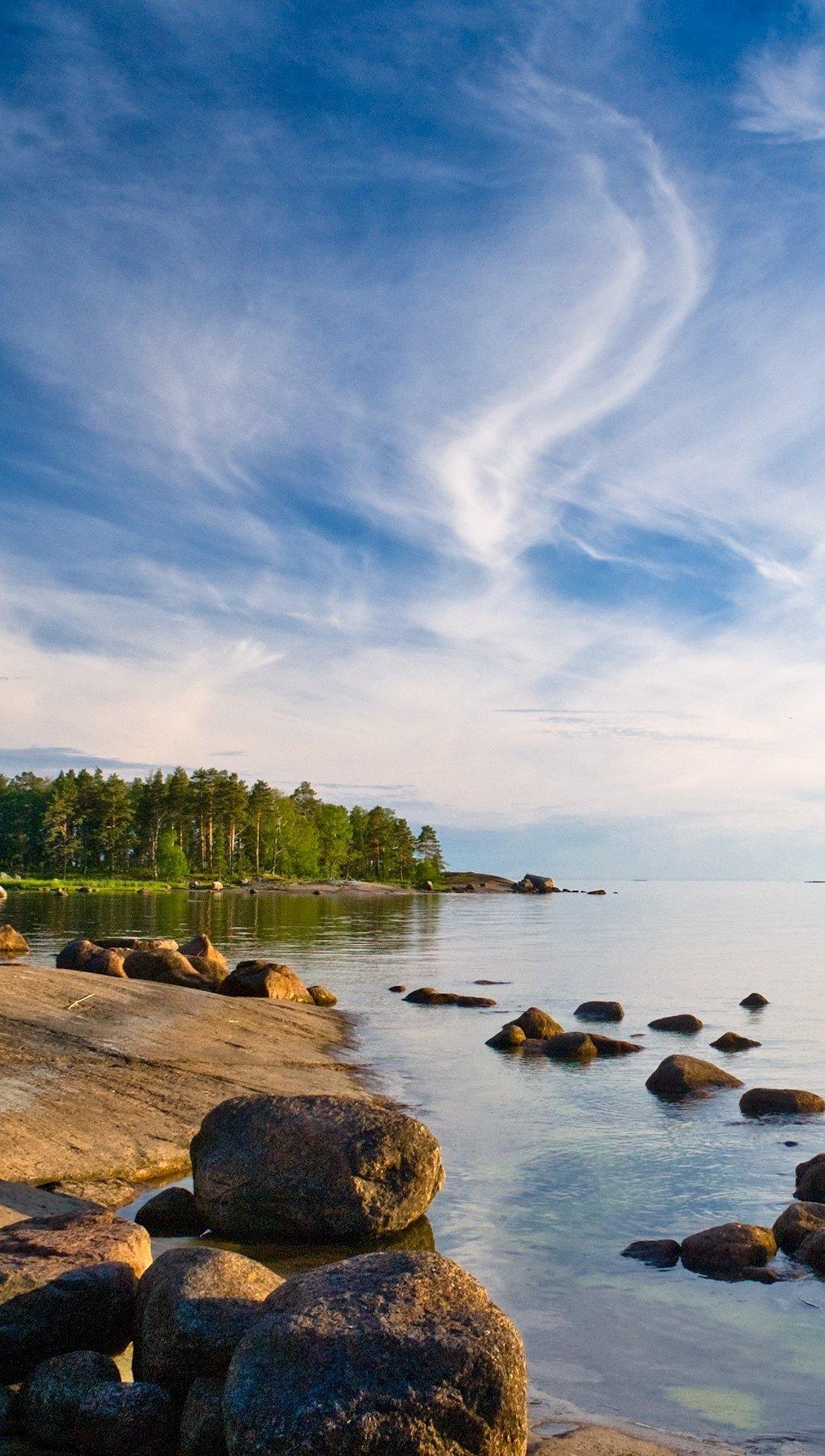 Wallpaper Island of Rakin Kotka Vertical