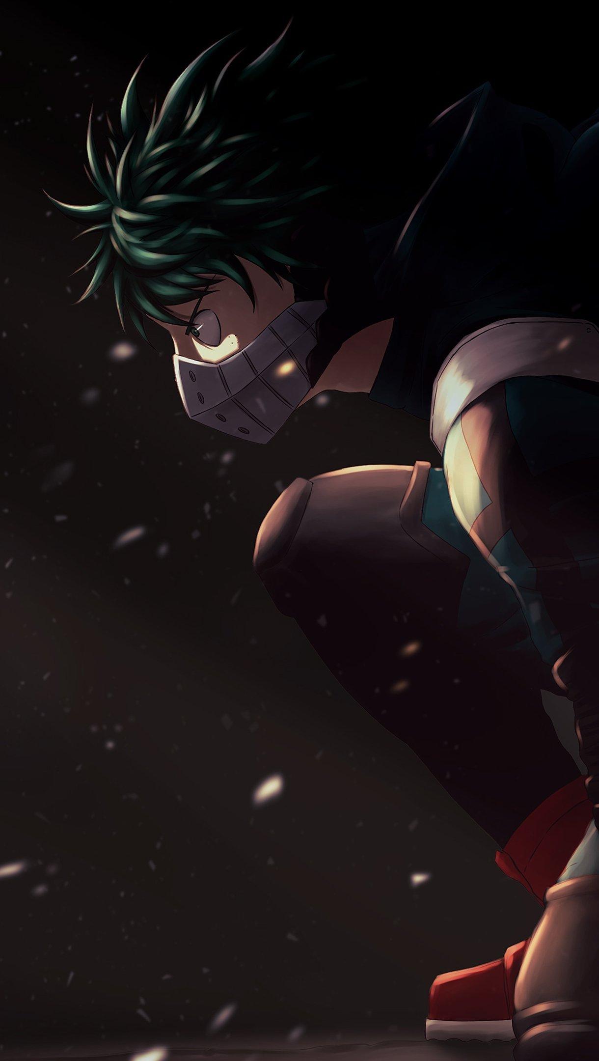 Anime Wallpaper Izuku Midoriya My Hero Academia Vertical