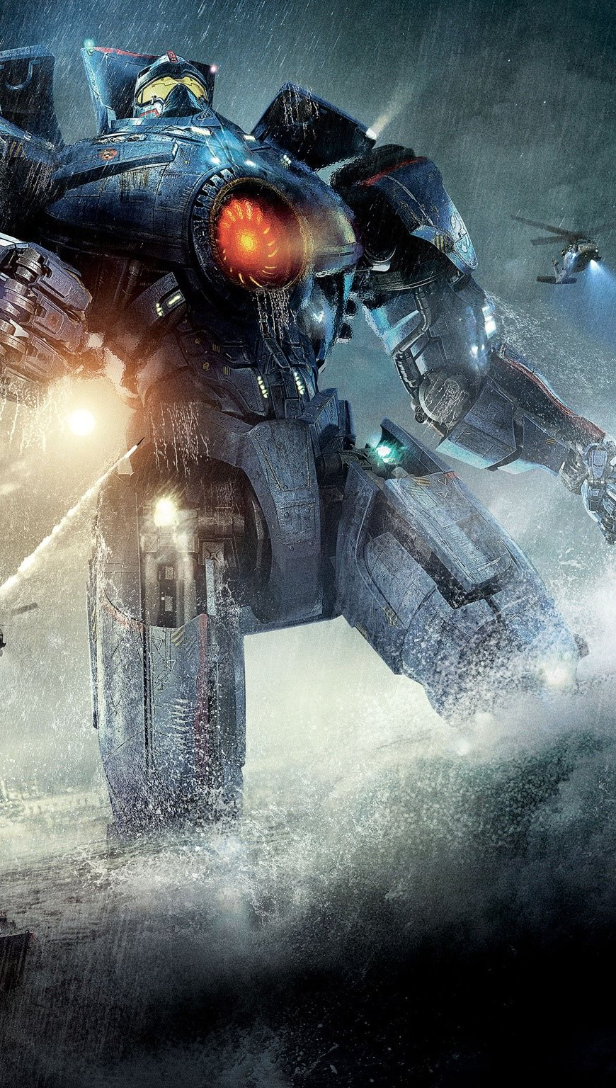 Wallpaper Jaegers in Titans of the Pacific Vertical