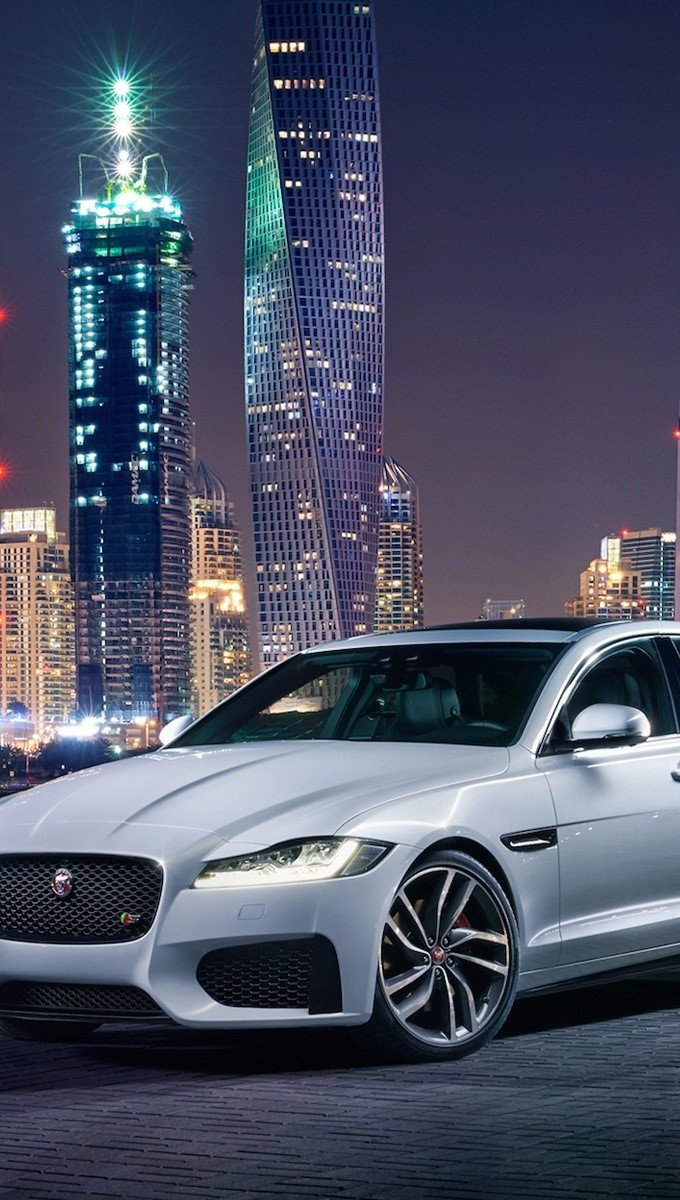 Fondos de pantalla Jaguar XF Vertical