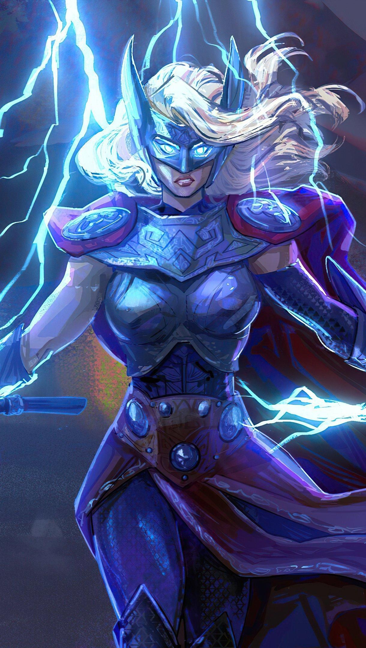 Fondos de pantalla Jane Foster como Thor Vertical