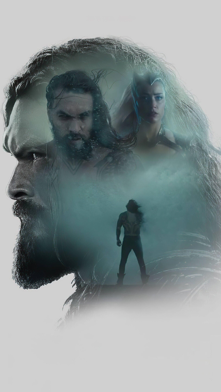 Wallpaper Jason Momoa as Aquaman Zack Snyders Justice League Vertical