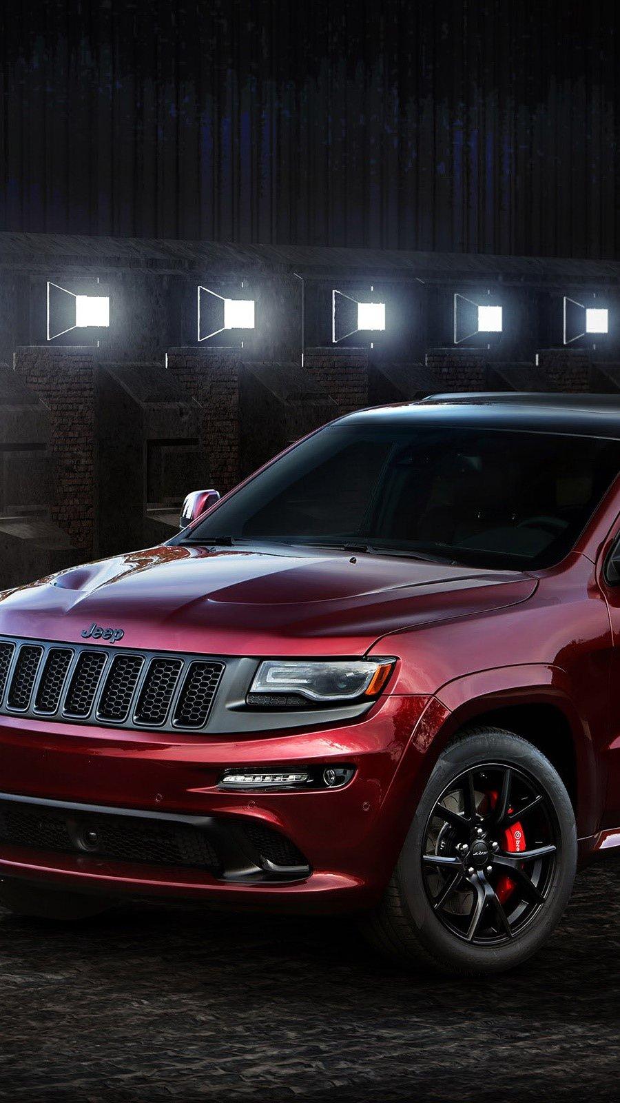Fondos de pantalla Jeep Grand Cherokee SRT Vertical