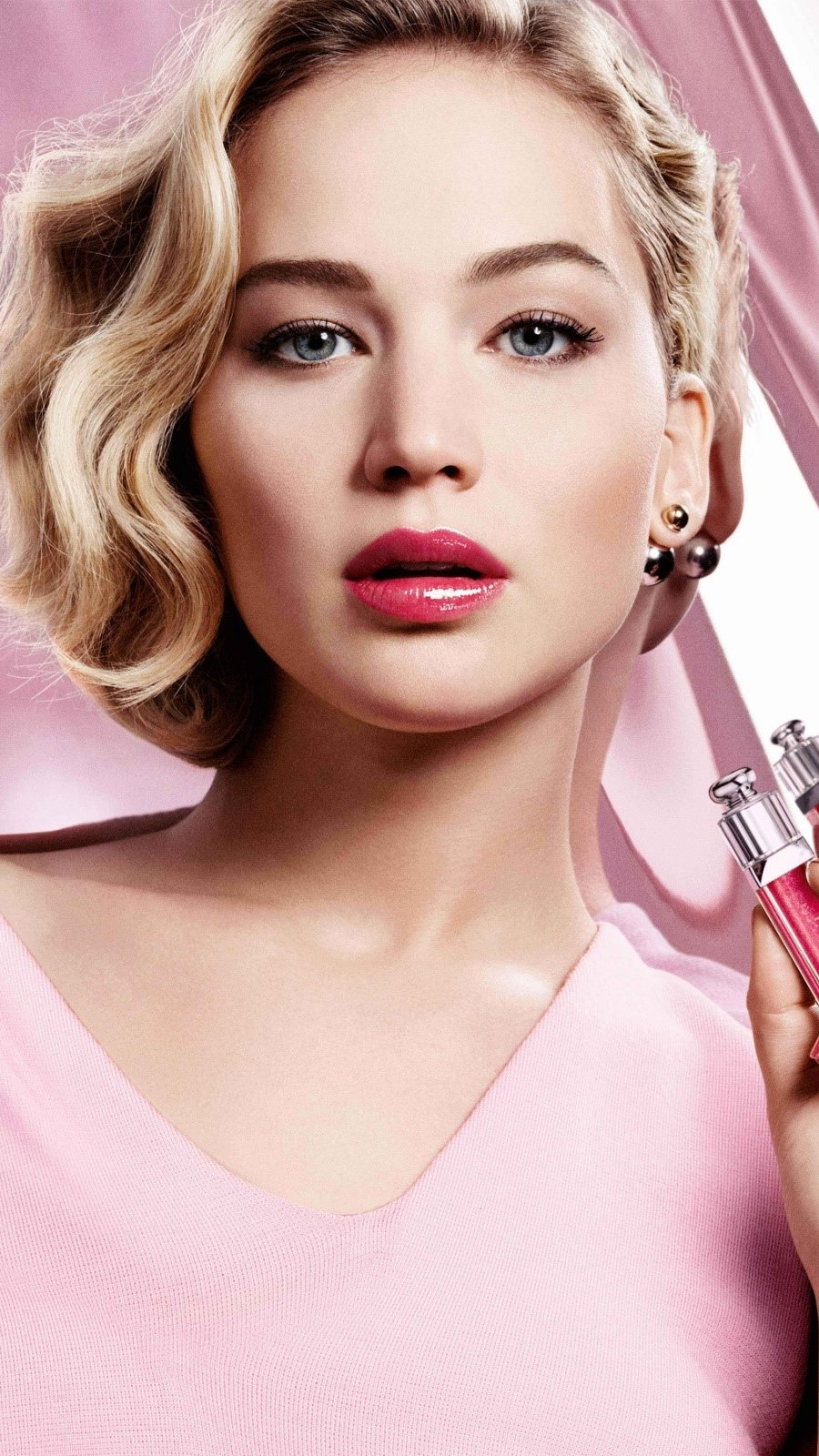 Fondos de pantalla Jennifer Lawrence para Dior Vertical