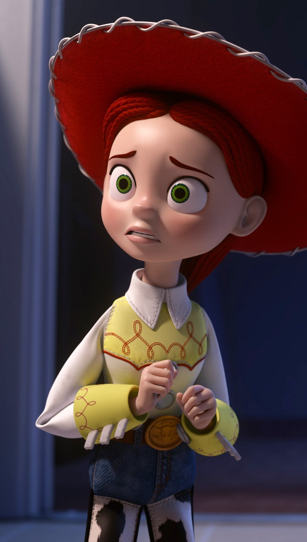 Wallpaper Jessie in Toy Story of Terror Vertical