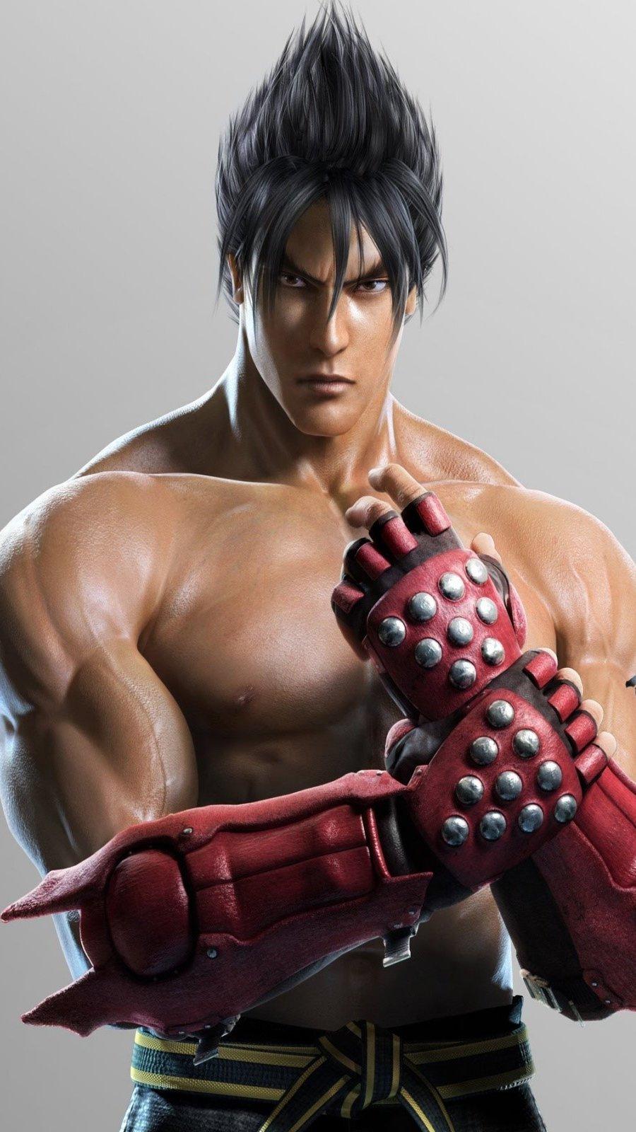 Wallpaper JIn Kazama of Tekken Vertical