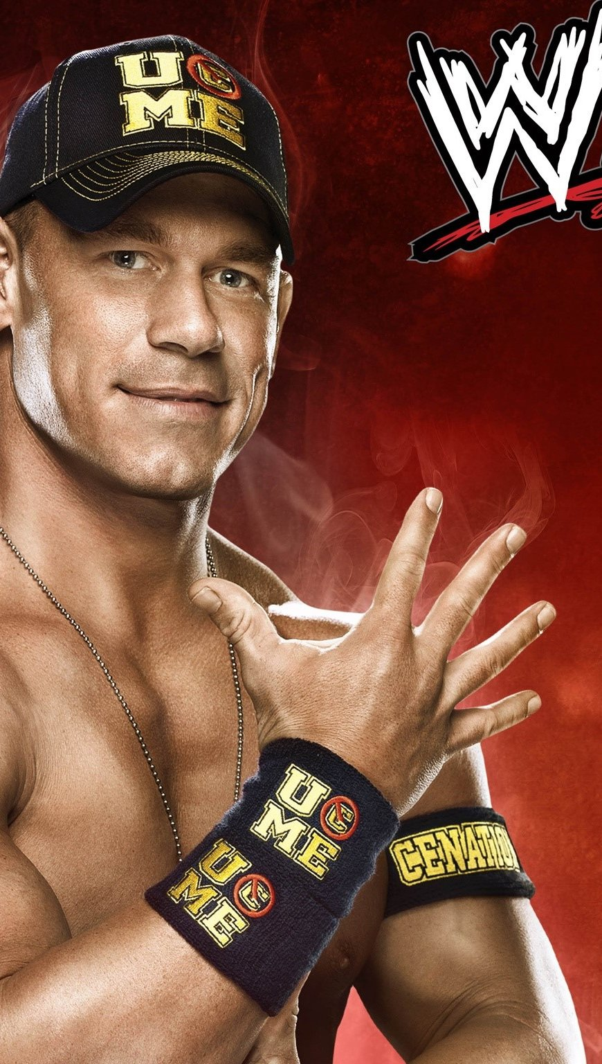 Fondos de pantalla John Cena WWE Vertical