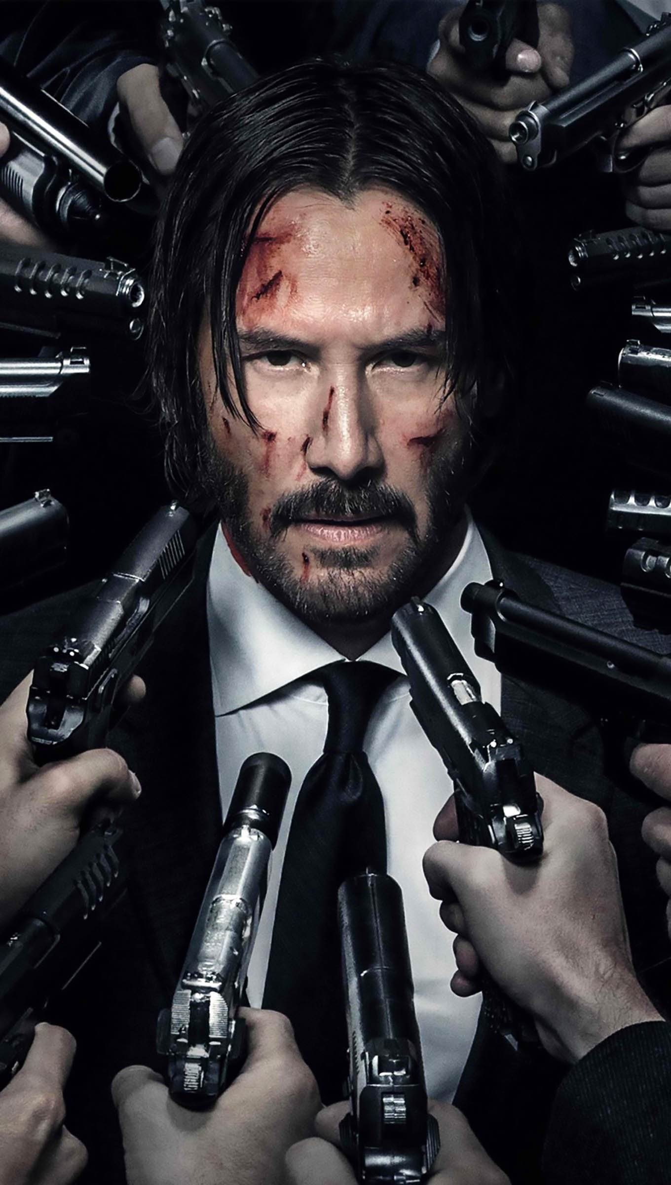 Wallpaper John Wick 2: a new day to kill Vertical