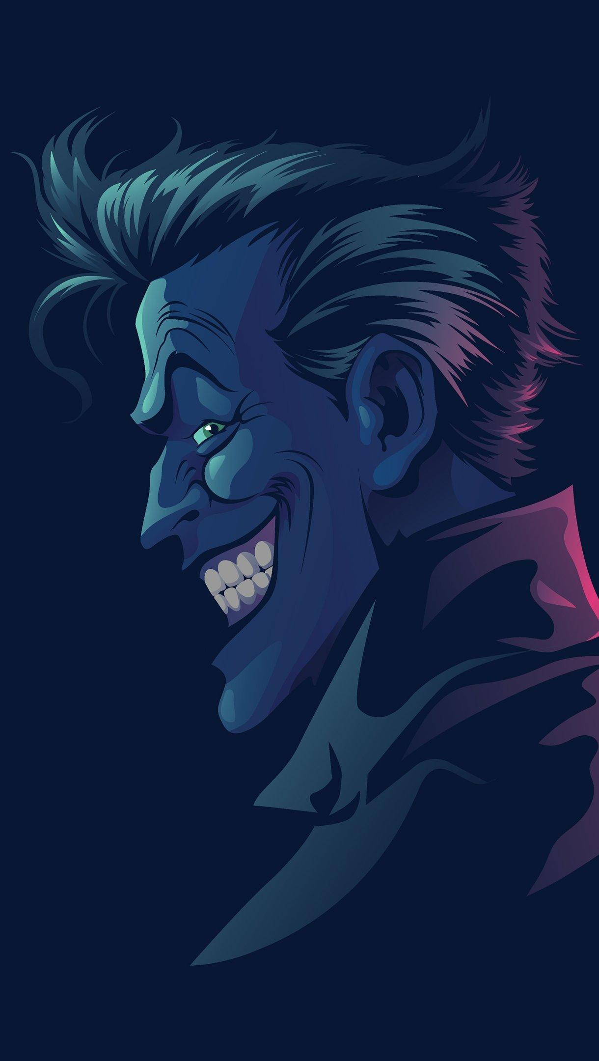 Fondos de pantalla Joker (Guasón) Minimalist Vertical