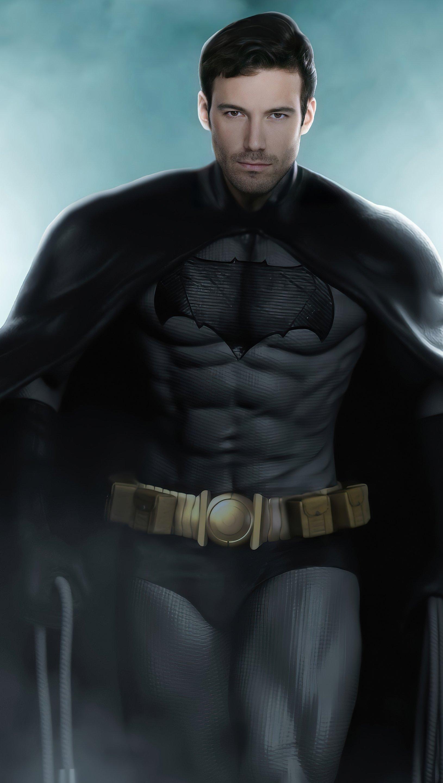 Fondos de pantalla Joven Ben Affleck como Batman Vertical