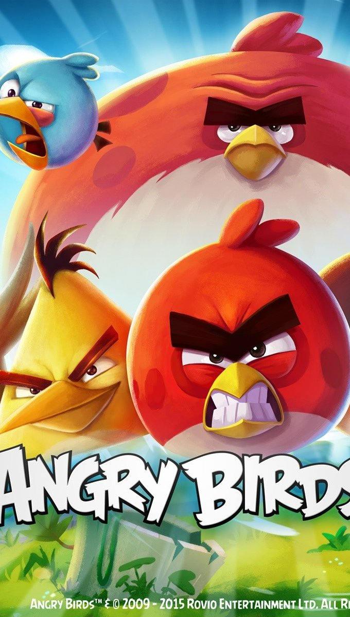 Wallpaper Angry Birds 2 Game Vertical