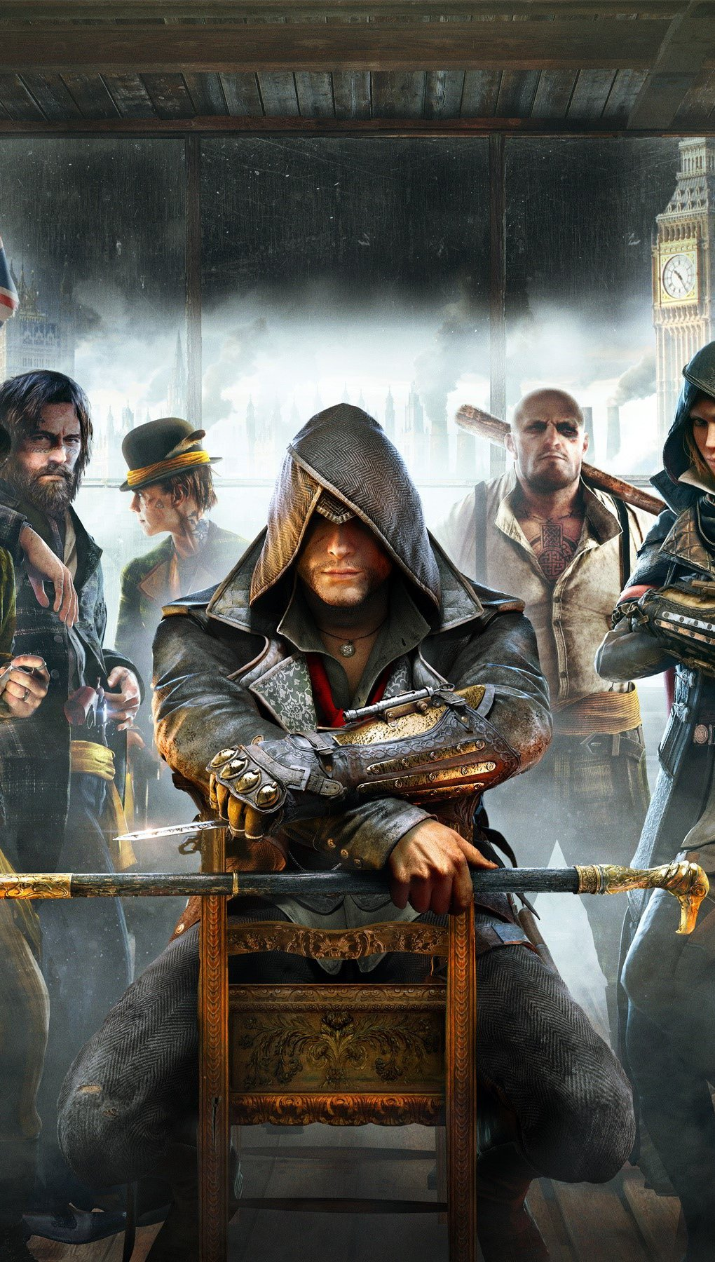 Wallpaper Game Assassins Creed Syndicate Vertical
