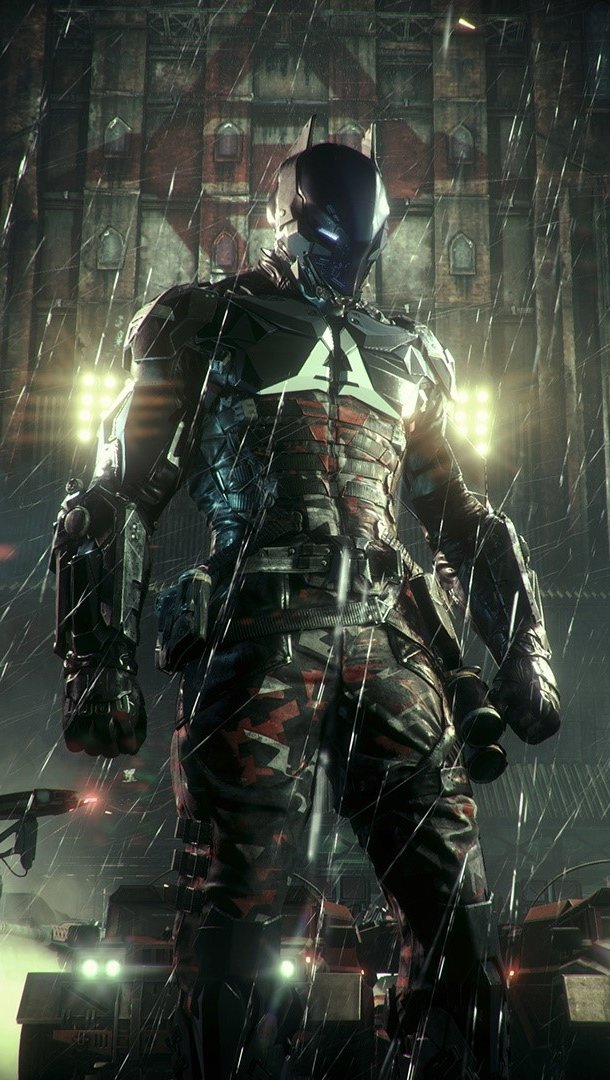 Wallpaper Game Batman Arkham Knight Vertical