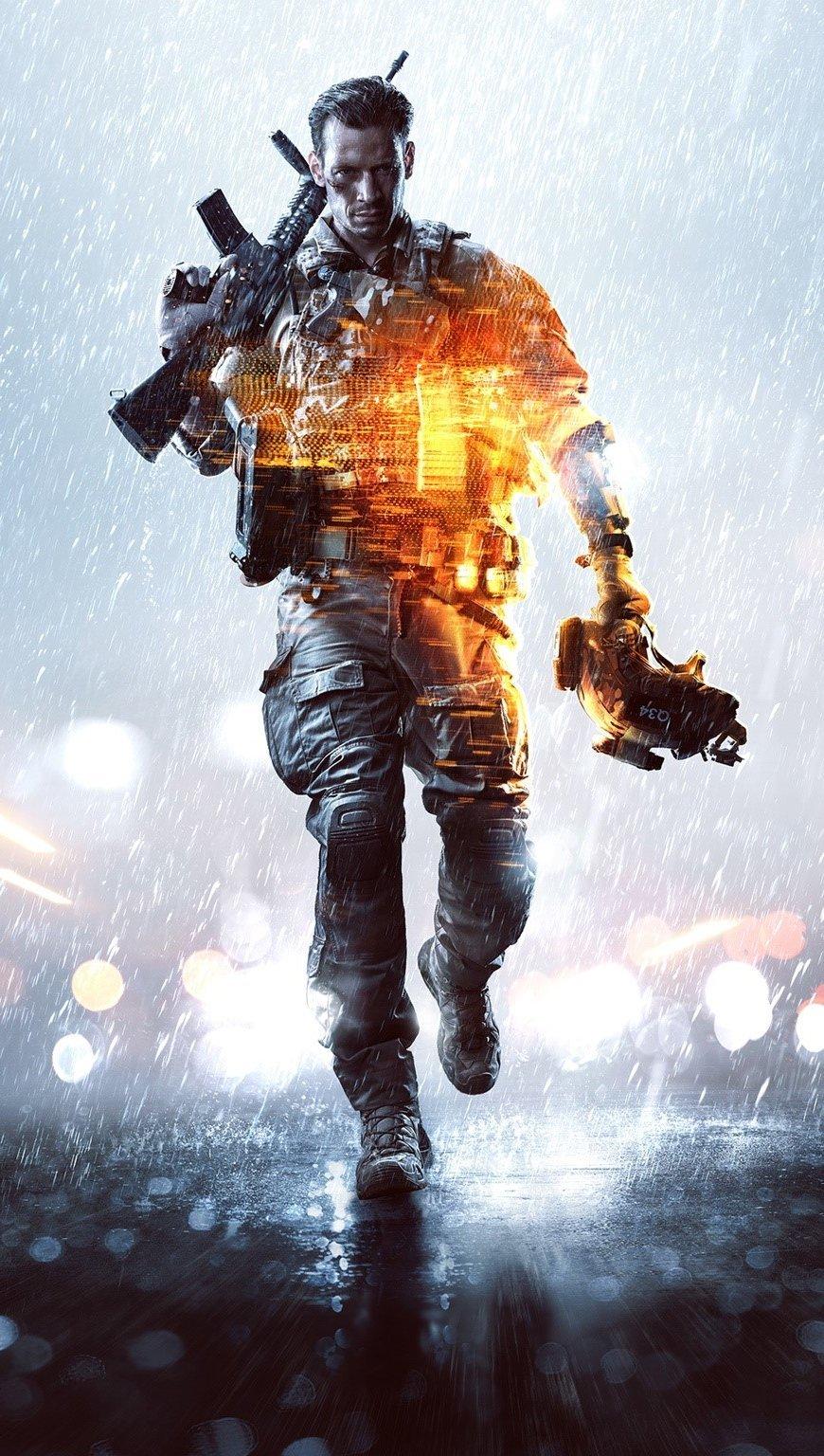 Wallpaper Game Battlefield 4 Vertical
