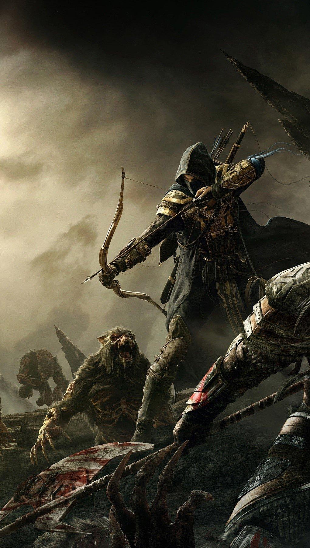 Wallpaper Online game The Elder Scrolls Vertical