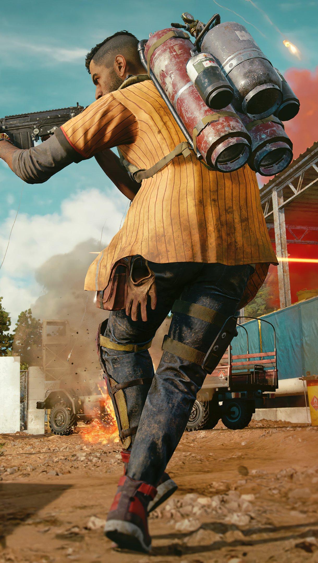 Fondos de pantalla Juego Far Cry 6 Vertical