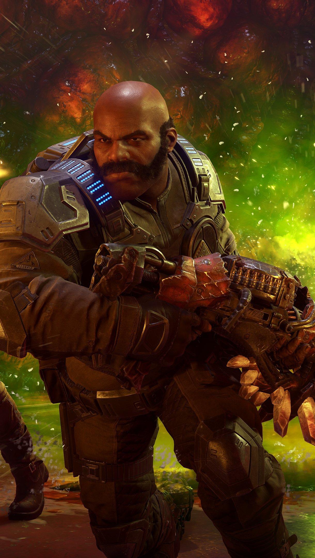 Fondos de pantalla Juego Gears of war 5 Vertical