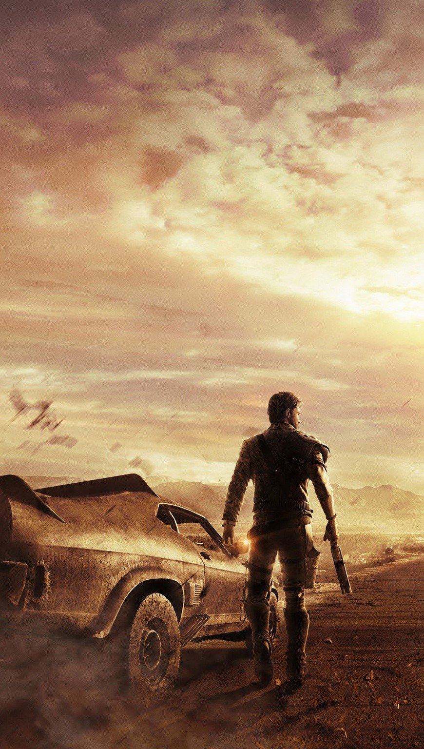 Wallpaper Game Mad Max Vertical