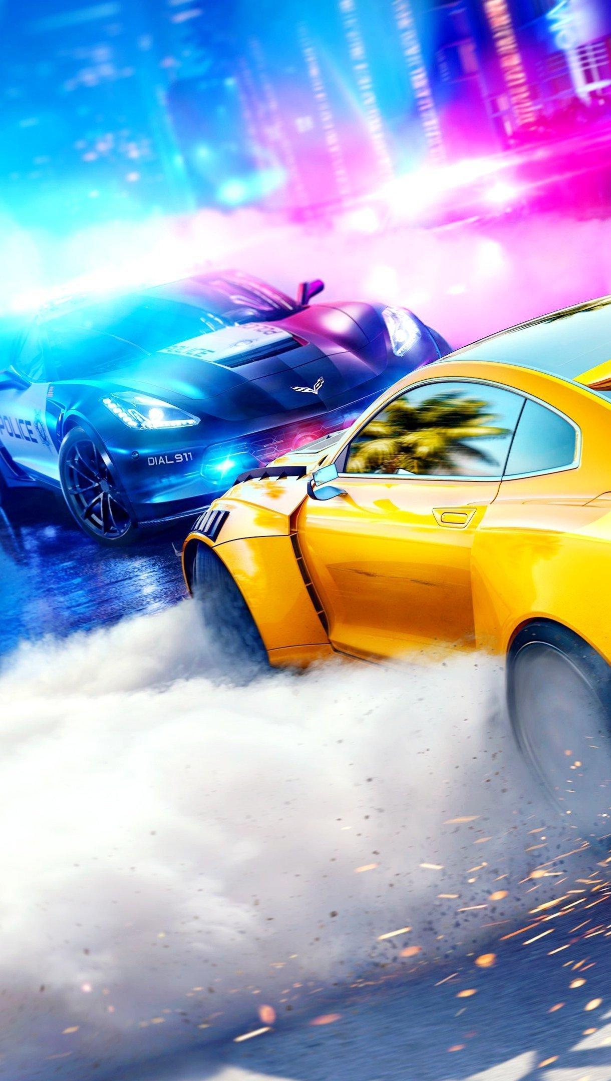 Fondos de pantalla Juego Need for Speed Heat Vertical