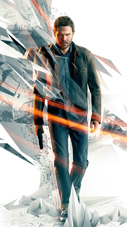 Wallpaper Quantum Break game Vertical