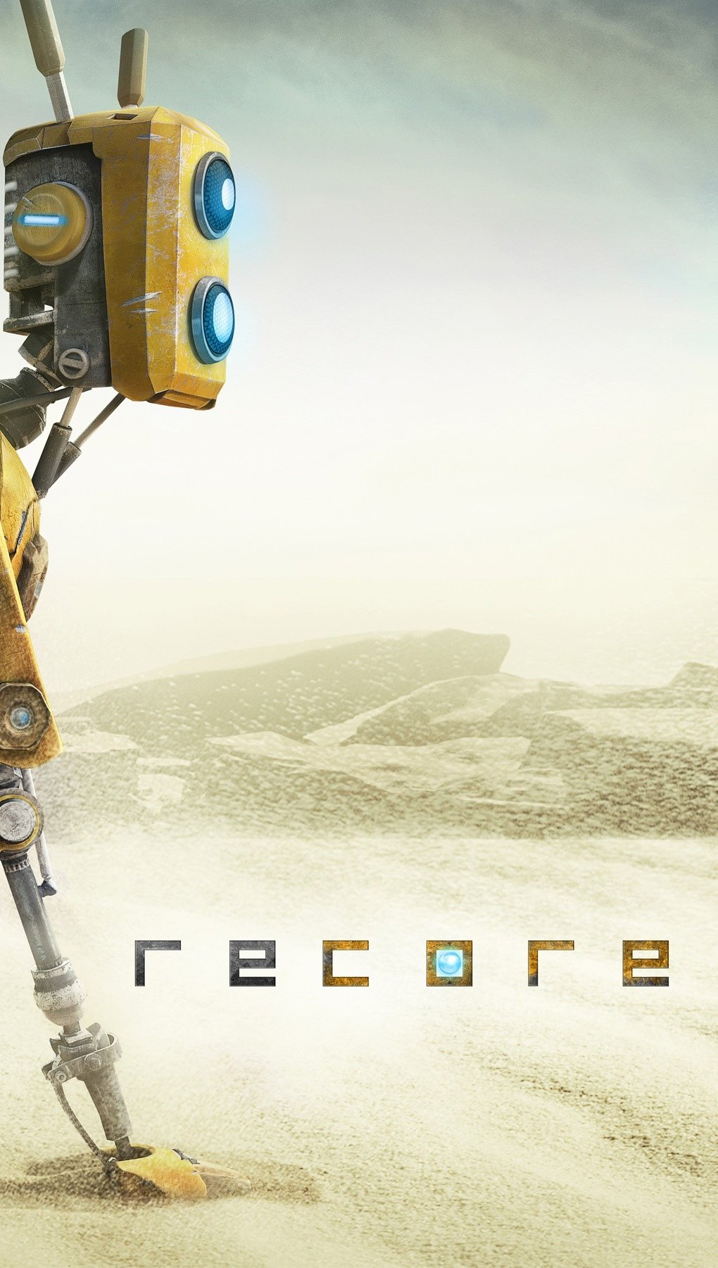 Wallpaper Recore game Vertical