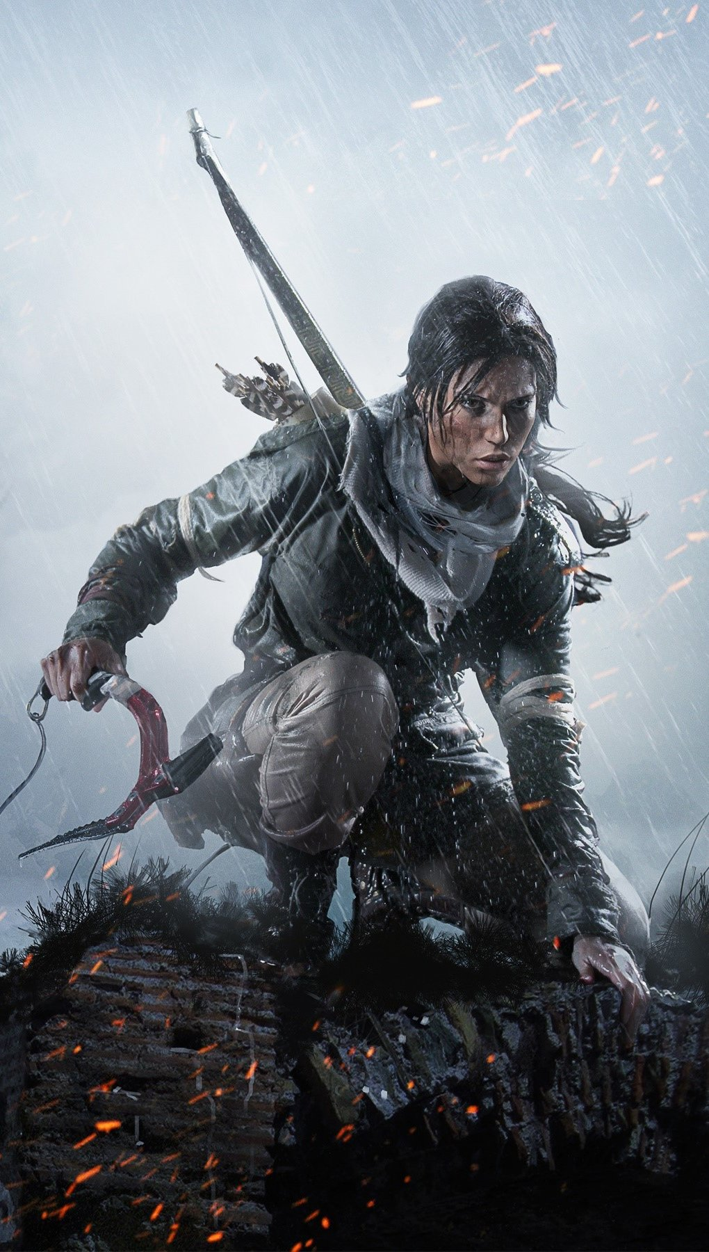 Wallpaper Game Rise of Tomb Raider Vertical