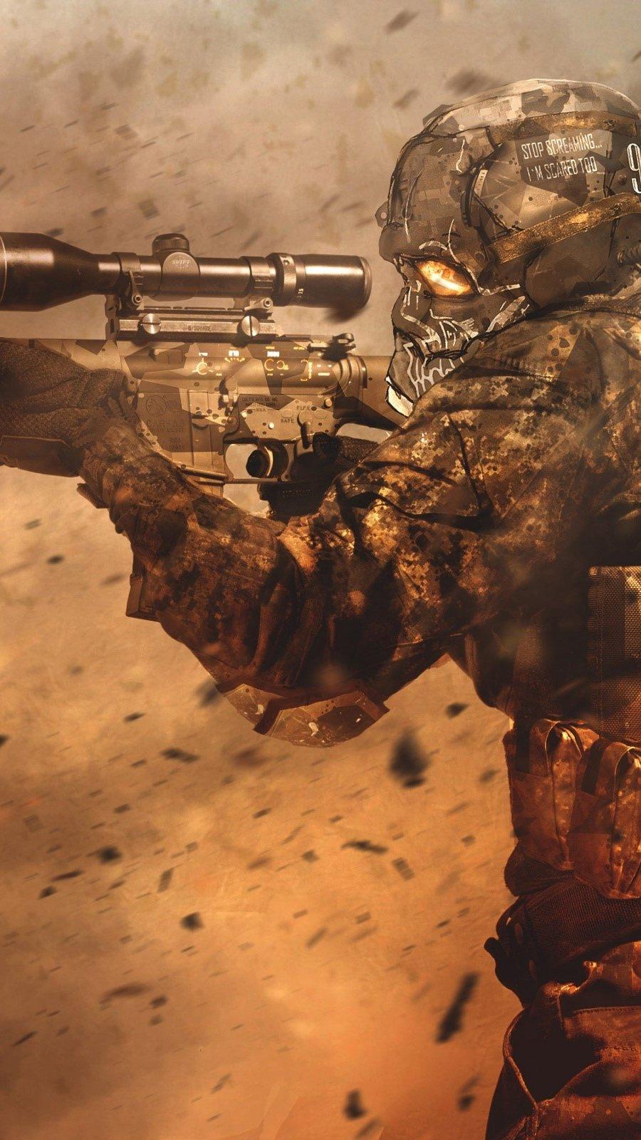 Fondos de pantalla Juego Sniper Vertical