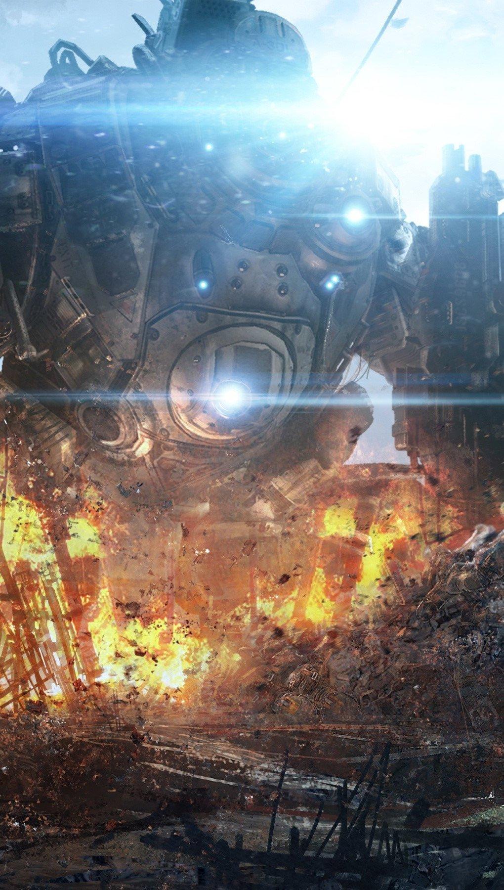 Fondos de pantalla Juego Titanfall Vertical
