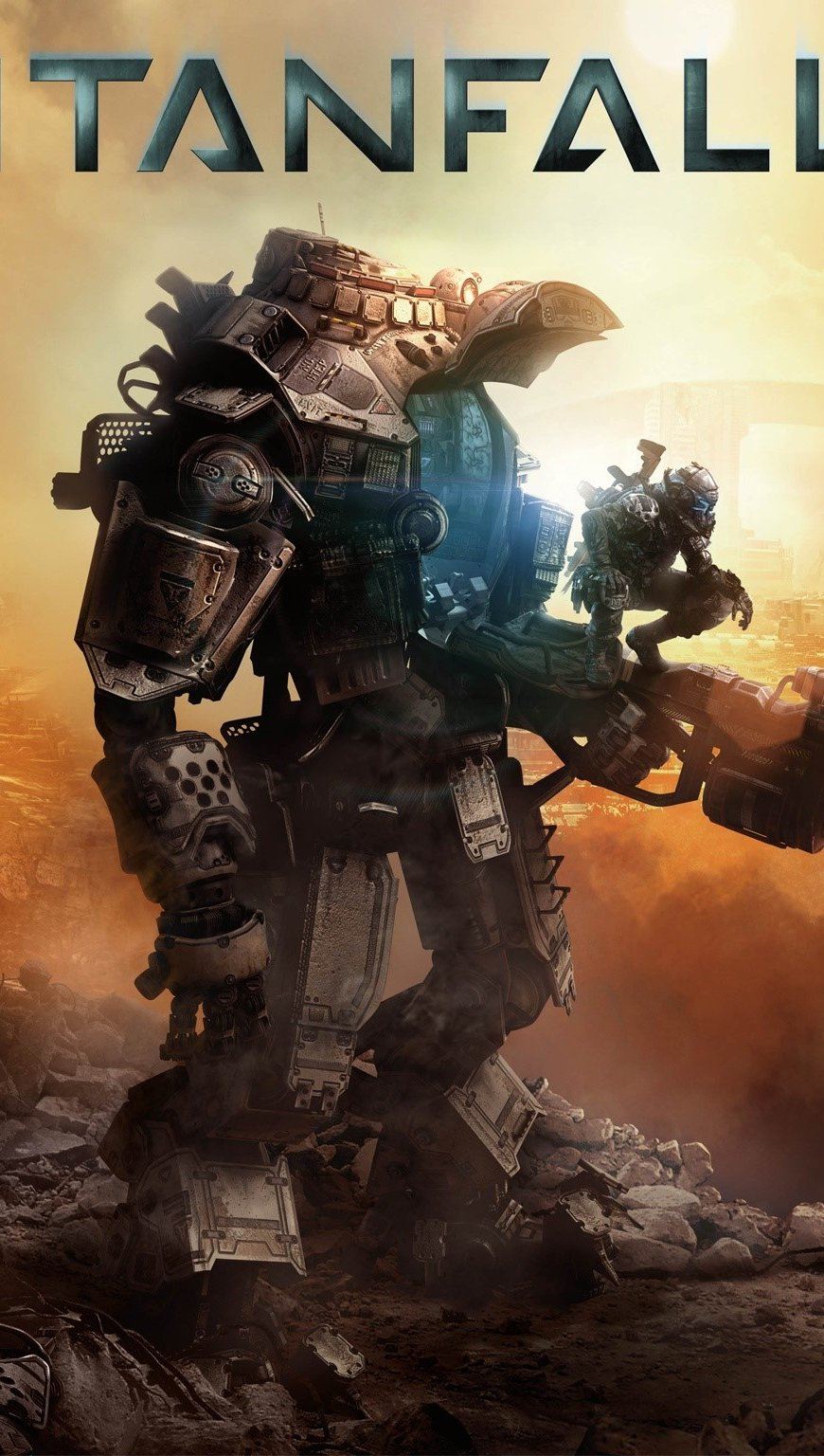 Wallpaper Titanfall game for XboxOne Vertical