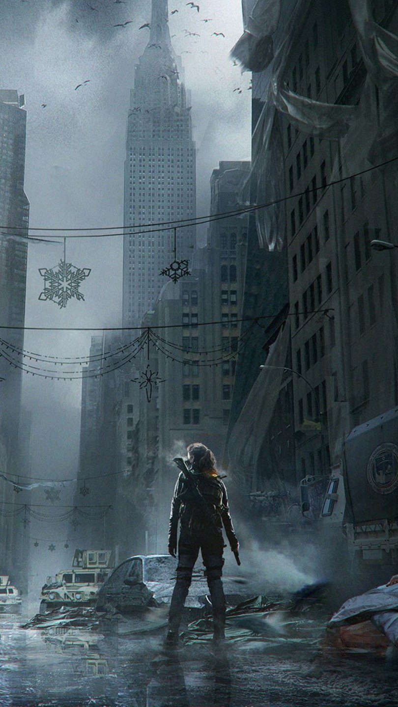 Wallpaper Game Tom Clancys The Division Vertical