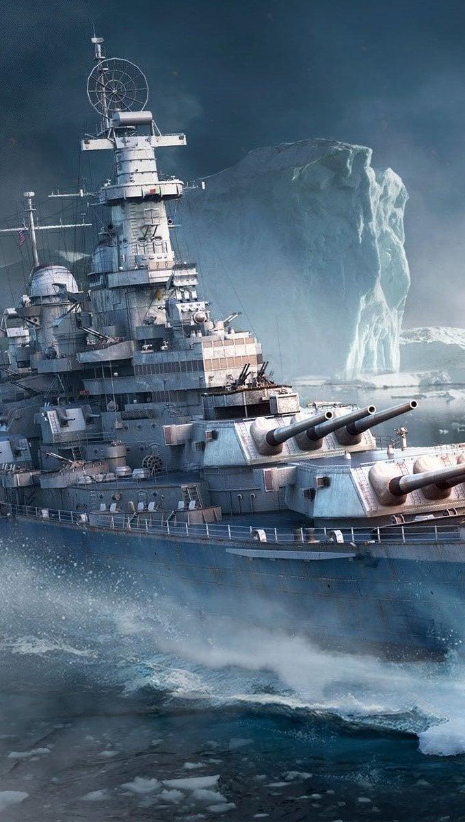 Wallpaper Game World of Warships Vertical