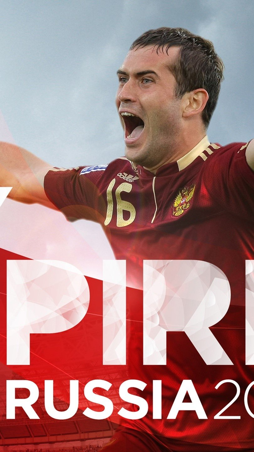 Wallpaper Russian player Kerzhakov in fifa Vertical