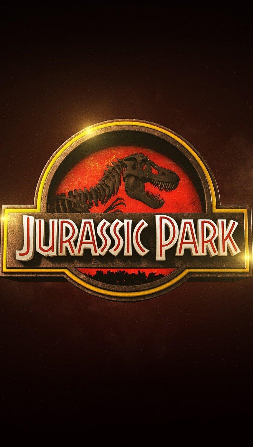 Wallpaper Jurassic Park Vertical
